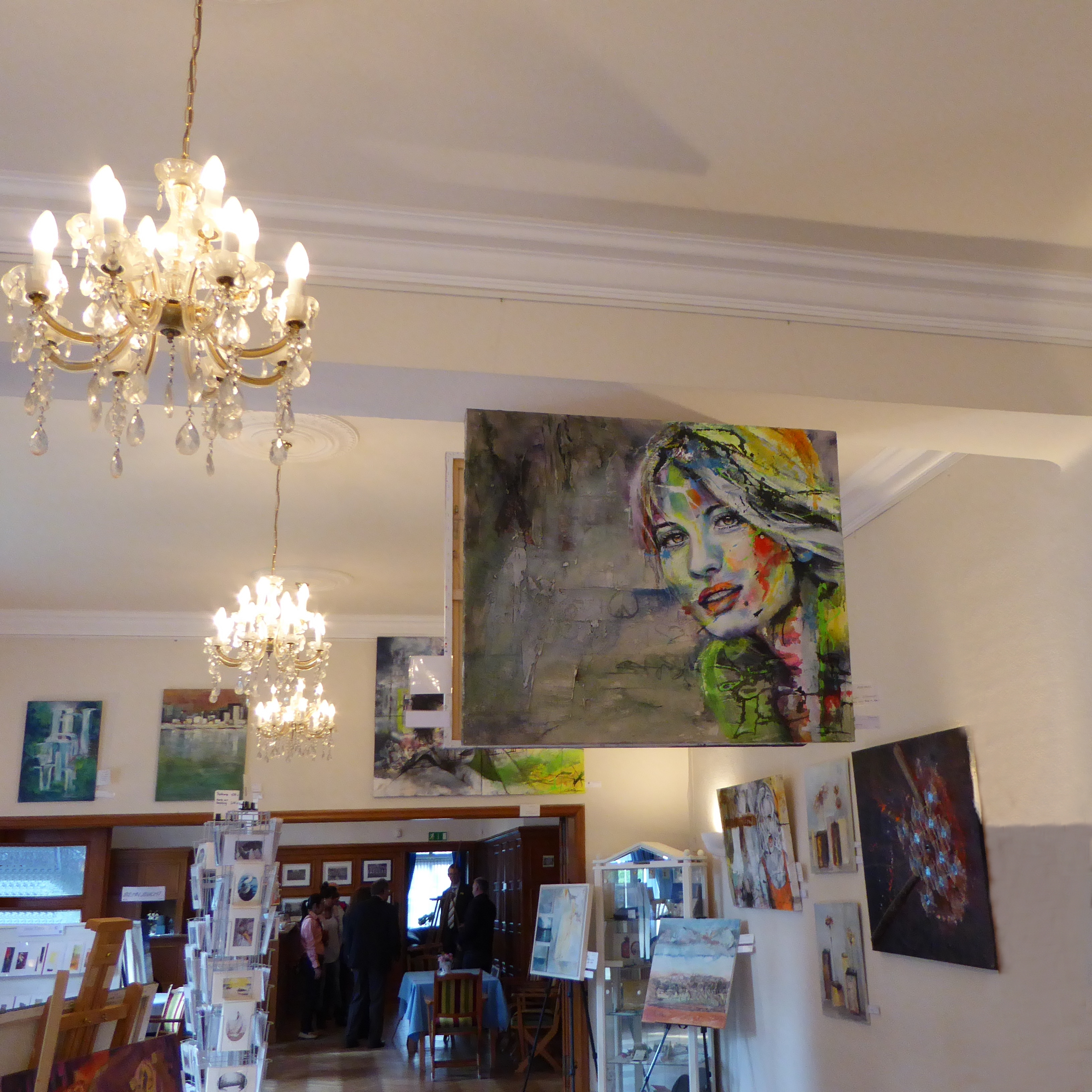 Ausstellung Logenhaus – Museumsnacht Neumünster – Carola X Matthes
