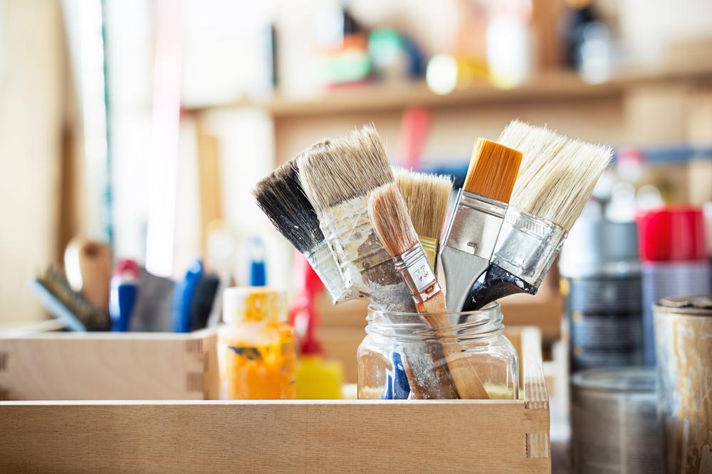 Pinsel im Atelier | Carola X Matthes