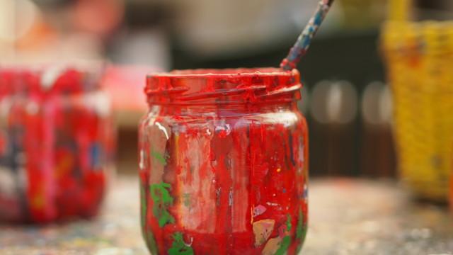 Farbe im Atelier | Carola X Matthes