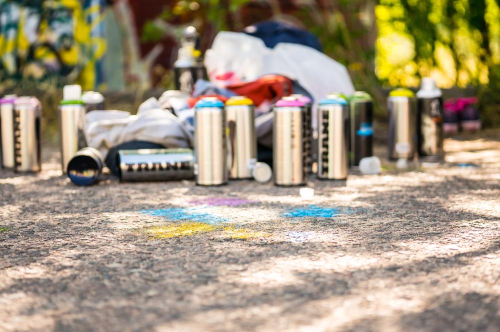 Graffiti im Garten | Carola X Matthes
