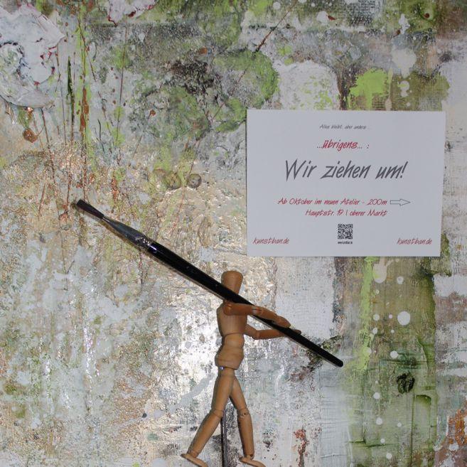 Umzug Atelier kunstban.de – Carola X Matthes